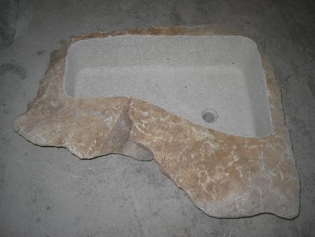 Lavello in pietra naturale 4